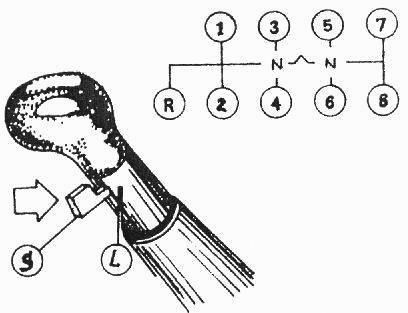 Схема переключения передач маз