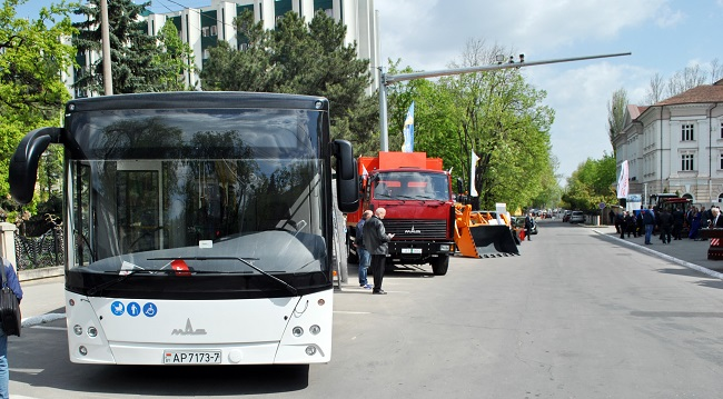 автобусы МАЗ в Молдове