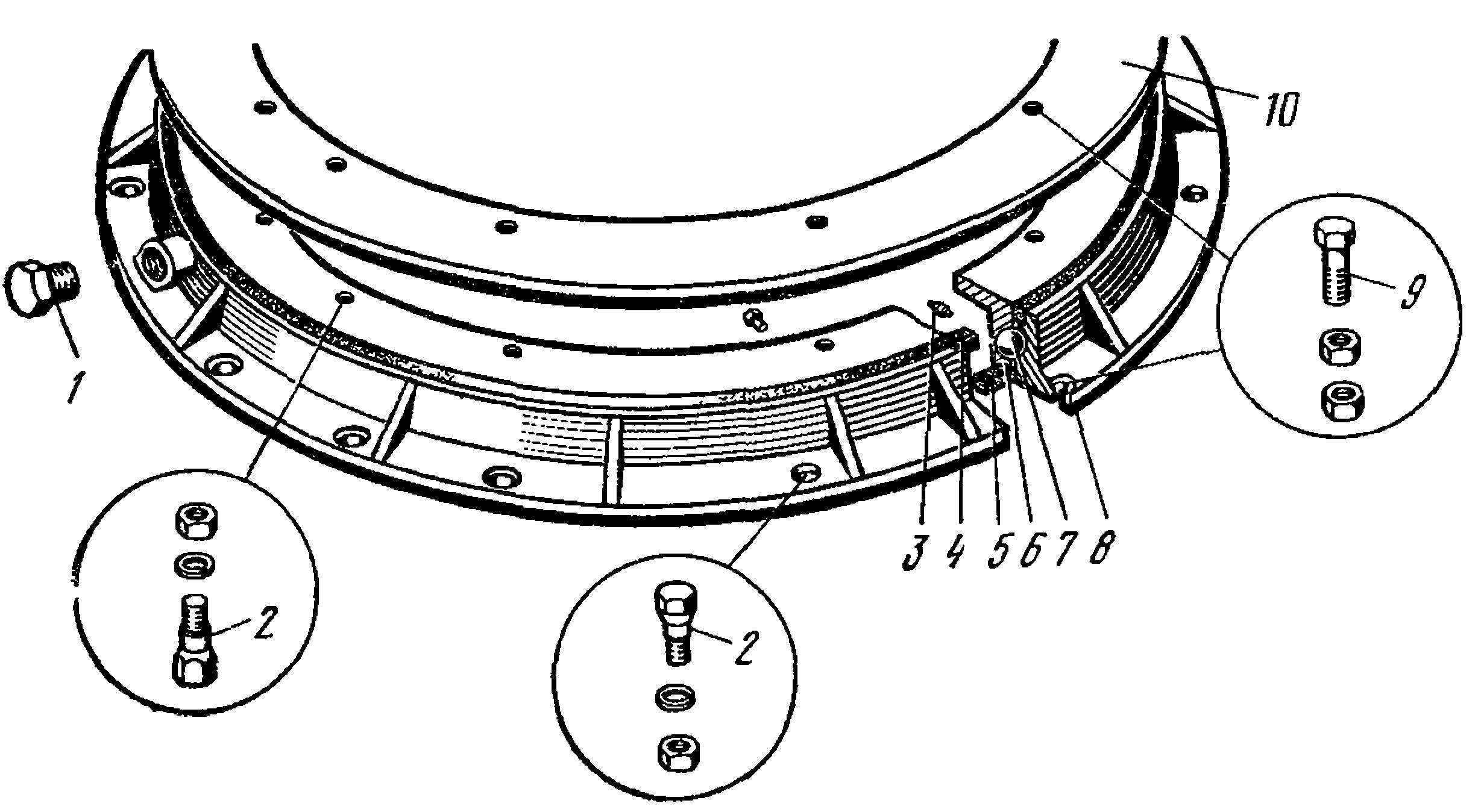 Ремонт поворотного круга прицепа камаз своими руками