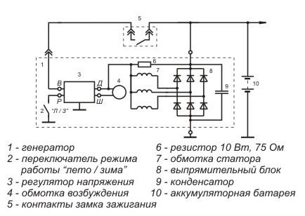 блок бск 4 схема