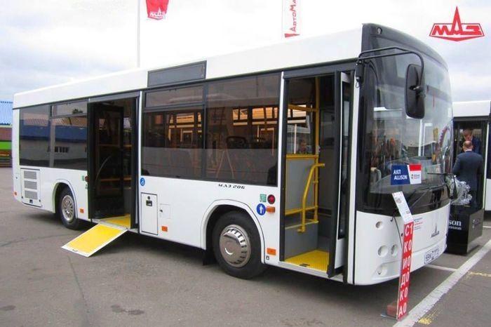 автобус модернизации МАЗ 206
