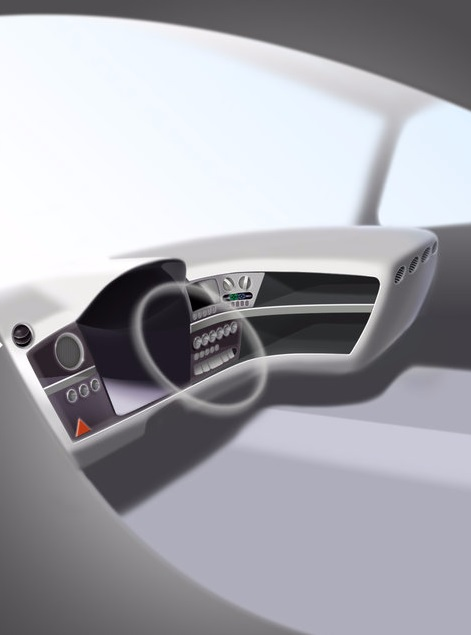 интерьер автомобиля маз