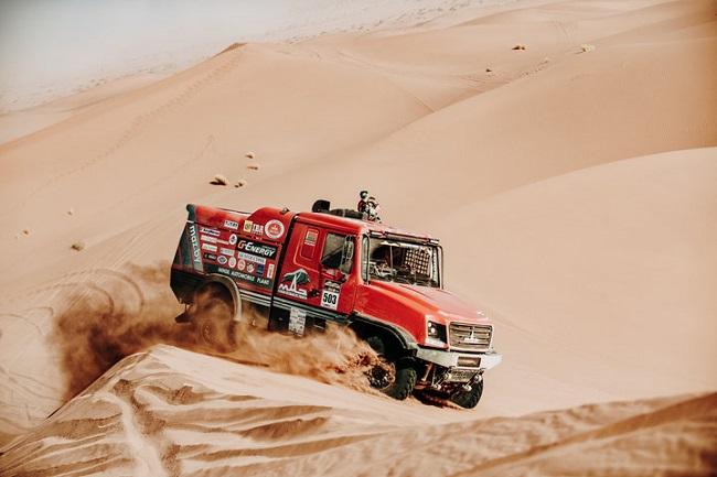 Гонщики «МАЗ-СПОРТавто» выиграли африканскую гонку