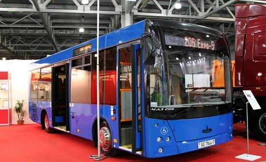 маз 206 автобус ЧМ России 2018
