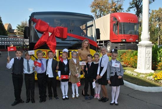 МАЗ 241S30 школьные автобусы
