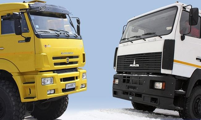 маз и камаз - конкуренция на российском рынке