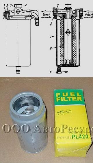 Очищаем фильтр грубой очистки МАЗ