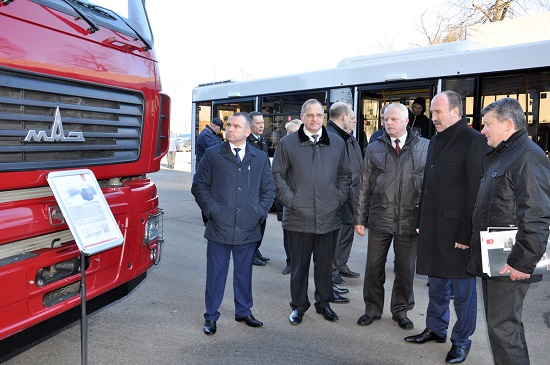Представители Тамбовской области посетили МАЗ