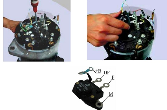 ремонт генератора для МАЗ