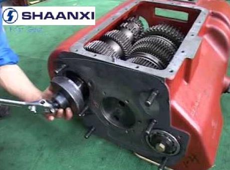 ремонт коробки передач Shaanxi