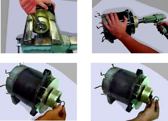 схема ремонта генератора МАЗ