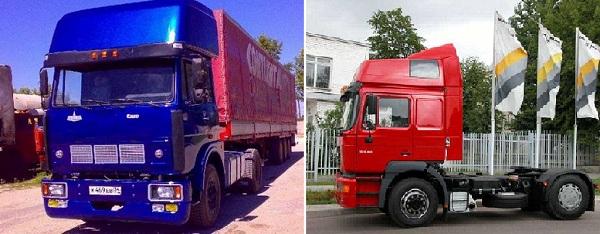 тюнинг МАЗ - грузовики