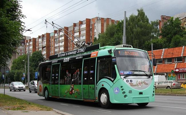 троллейбус маз