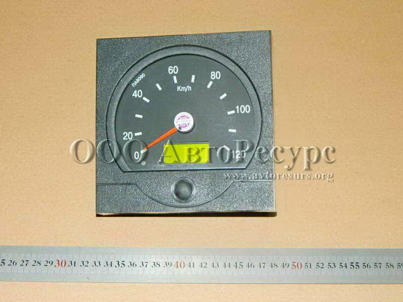 Спидометр электронный с квадратной наружной крышкой, артикул ПА 8090-1 (ВЗЭП) .